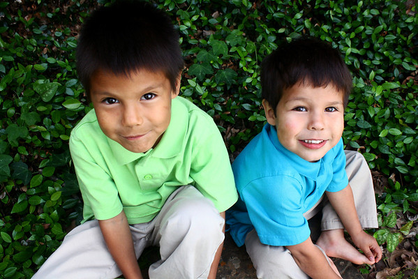 Children: Dominic & Xavier